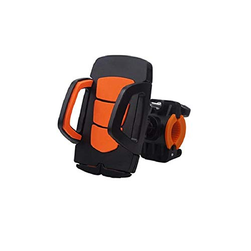 Ding&ng Fahrradauto stoßfest wasserdicht Reiten Handyhalterung, Elektroroller Mobile Navigationshalterung@Orange
