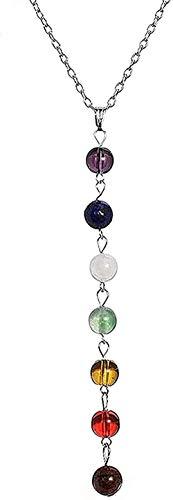 Aluyouqi Co.,ltd Collar Mujer Yoga Reiki Healing Balance Maxi Collares Charms Femme Jewelry Gifts