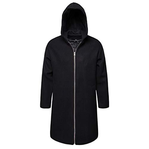 Longra Invierno Otoño Cloth Hombres Casual Trench Coat Tops Moda Negocio Largo...