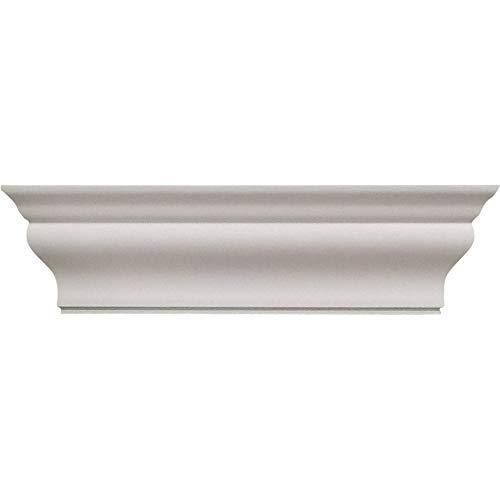 HealthyShelf ABS Paper Towel Dispenser - Wall Mount Shelf - Multi-Use Decorative Shelf - Handy Dispenser Shelf for Bath, Kitchen, Utility, Garage - White