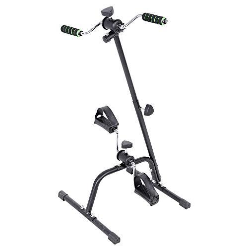 JFJL Heimtrainer für Arm und Bein - Arm & Bein-Trainingsgerät - Tragbarer Pedaltrainer - Fitnessgeräte für Senioren und Senioren - Falten Übung Fahrrad