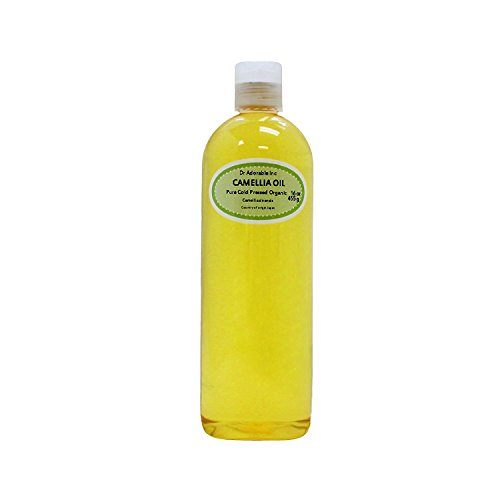 Camellia Seed Organic Carrier Oil Cold Pressed 100% Pure 16 Oz