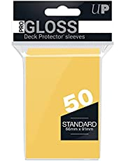 Ultra Pro SLEEVES 50 D12 Card Game (Yellow)