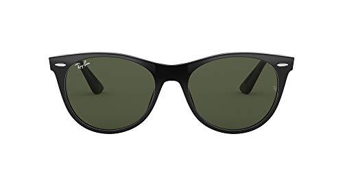 Ray-Ban 0RB2185 Gafas de sol, Negro, 55 Unisex
