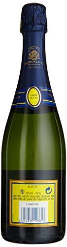 Monopole Heidsieck Blue Top Brut Champagner mit gelber Neoprenkühlmanschette (1 x 0,75 l) - 3