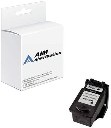 AIM Compatible Replacement for Canon PG-210XL Black High Capacity Inkjet (400 Page Yield) - Generic
