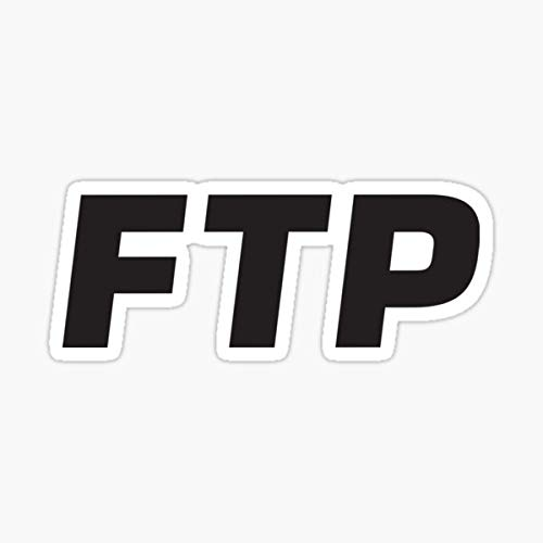 FTP Fuck The Population Suicideboys Sticker - Sticker Graphic - Auto, Wall, Laptop, Cell, Truck Sticker for Windows, Cars, Trucks