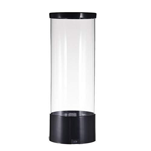 Erfula Lámpara LED de lava de medusas Mini lámpara de acuario de medusas Tanque eléctrico de acuario de peces falsos de medusas Lámpara LED Fantasy Medusa Luz de humor que cambia de color conventional