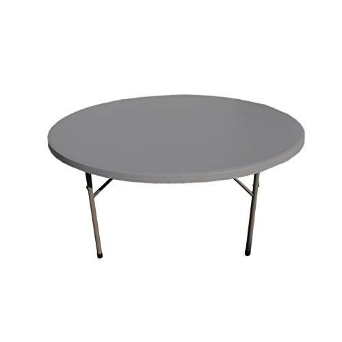 Mesa redonda 180x74 cm para restaurante y catering. Mesas ca