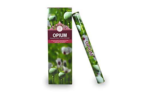 Bosalla LAMARE Incienso Perfumado Opium (6 Tubos x 20 Varillas)