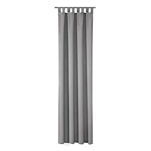 Schlaufenschal Hannah B/H: 140/235 cm halbtransparent (grau)