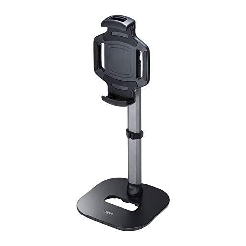 サンワサプライ タブレット用伸縮アームスタンド(高さ調節タイプ) PDA-STN39BK