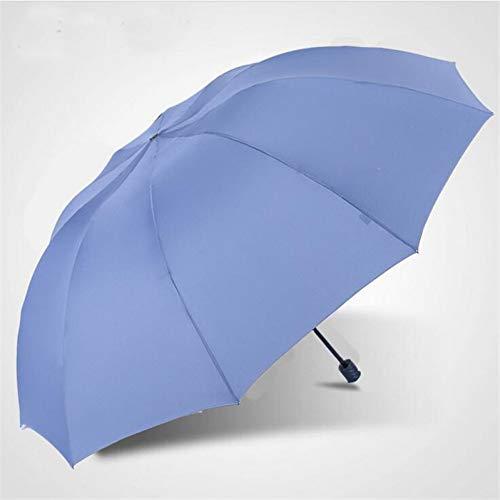 NFHBBAA Parapluie Pluie Mme Coupe-Vent Grand Parapluie Pliant Business Double Umbrella De Haute Qualité pour Hommes