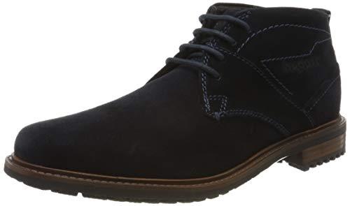 bugatti Herren 313205341400 Klassische Stiefel, Blau, 43 EU