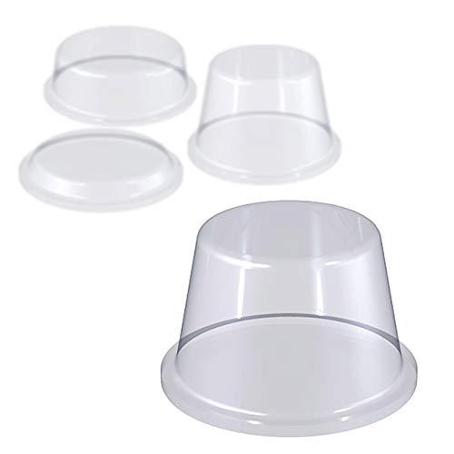 ELASTIKPUFFER SELBSTKLEBEND | Zylindrisch | Größe, Menge & Farbe wählbar (16,5 mm Durchmesser, 10,2 mm Höhe, 16 Stück)