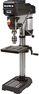 Klutch Benchtop Drill Press - Variable Speed with Digital Display, 12in. 3/4 HP, 120V