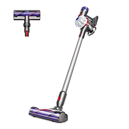 Dyson V7 Allergy HEPA Cord-Free Stick Vacuum Cleaner, White