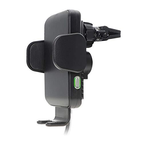 4smarts Induktive Schnellladestation und Handyhalterung 'VoltBeam Touch 2' mit 10 W, Schwarz 464690