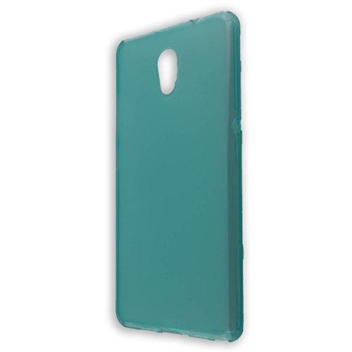 caseroxx TPU-Hülle für Lenovo P2, Handy Hülle Tasche (TPU-Hülle in hellblau)