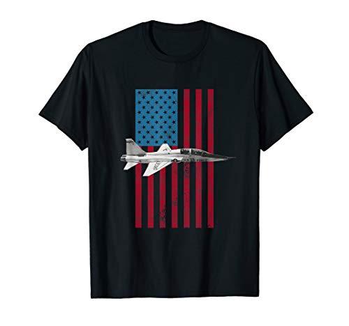 T-38 Talon USA American Flag Tee - Military T-Shirt