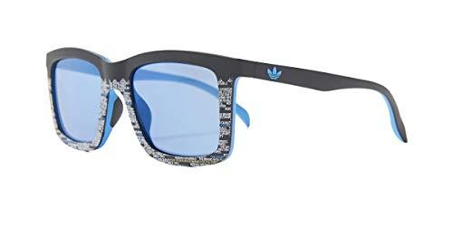 adidas Sonnenbrille Schwarz/Blau AOR015 BI4773