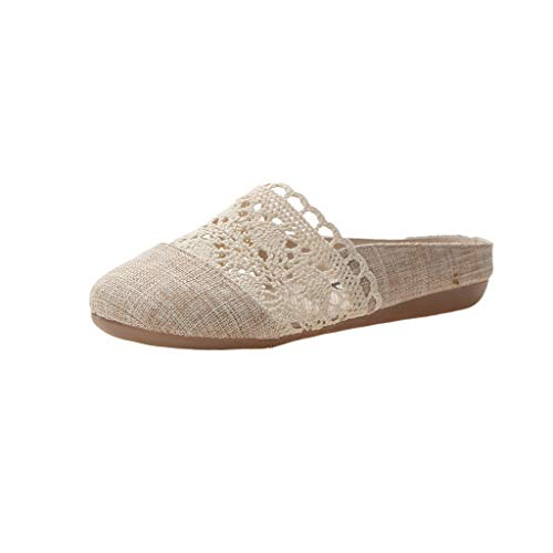 Vovotrade dames slippers espadrilles met plateau bast glitter
