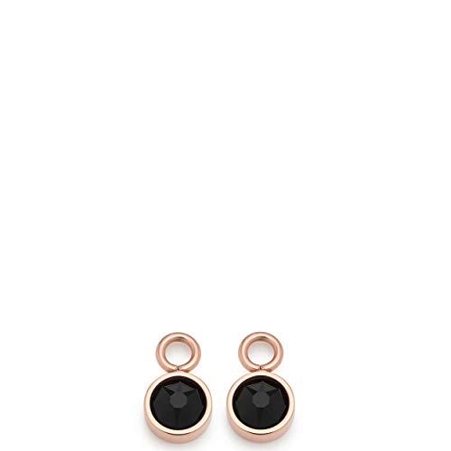 Jewels by Leonardo Set/2 Anh. Nana schwarz/roségold