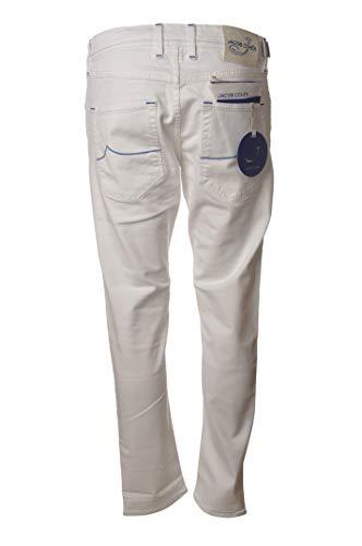 Jacob Cohen Hose 5 Taschen Kontrastnähte J656BLUEC01863SW5301 Weiß Gr., Weiß 26