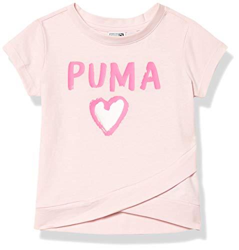 PUMA Baby Girls' T-Shirt, Cherry Blossom, 2T