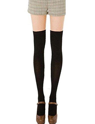 Legou vrouwen over knie hoge kousen een maat