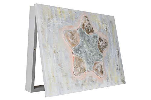 Comprar cuadros online Tapa Contador Lienzo Pintado a Mano Estrella Relieve | Cubre Contador | Arte Moderno | Pintado a Mano |