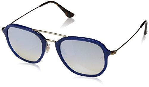 Ray-Ban 0rb4273 62599u 52 Gafas de sol, Shiny Blue, Unisex