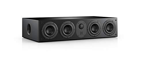Nubert nuLine CS-64 Centerlautsprecher | Lautsprecher für Heimkino & Musikgenuss | Stimmen auf hohem Niveau | Passive Centerbox mit 2.5 Wege Technik Made in Germany | Kompaktlautsprecher Schwarz