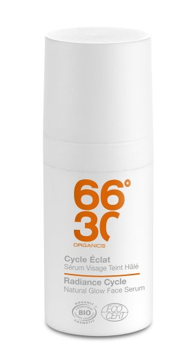 66°30 Radiance Cycle Natural Glow Face Serum, 1er Pack (1 x 15 ml)