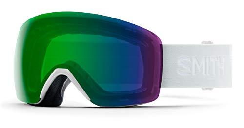 SMITH (SMIZD) Skyline Skibrille mit Chroma Pop, White Vapor 19, Mittelgroße Passform