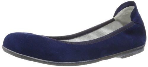 Däumling Hanna - Bailarinas de Cuero para niña Azul Capretto tiefsee, Color Azul, Talla 39