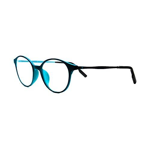 PIXEL LENS OCEAN occhiali PC, TV, Gaming, comfort visivo, contro stanchezza occhi, montatura ultra leggera Acciaio-TR90, RIDUZIONE LUCE BLU 41% e UV 100% certificata Università Torino. Filtro Monitor