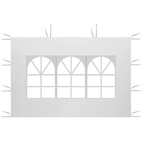 Paneles laterales de toldo de 3 m x 2 m, paneles laterales de repuesto, panel lateral de la tienda de campaña, panel lateral impermeable, tela Oxford 210D, superficie superior de la tienda de campaña