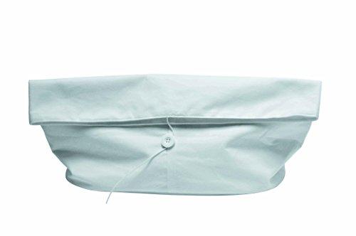 L'Atelier du Vin 095438-8 Bolsa de Pan, Textura, Blanco, L 36 cm x l 19 cm x h 28 cm