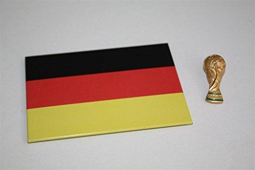 WM Copa del Mundo Trofeo como 3d Pin/Pin OVP licencia oficial + Alemania magnético