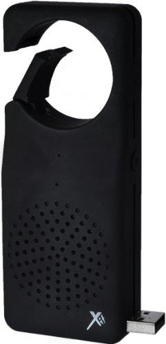 Xit AXTCXLBK Bluetooth Clip XL Speaker, Black