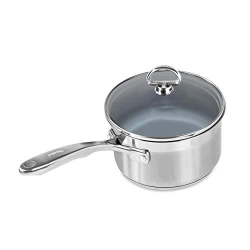 Chantal Steel Induction 21 Saucepan, 2 quart, Ceramic Non...
