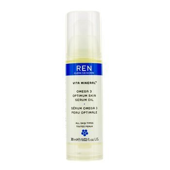 Vita Mineral Omega 3 Optimum Skin Serum Oil (For Dry Sensitive & Mature Skin) 30ml/1.02oz by REN
