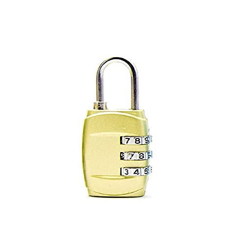 SJQ Bike Password Lock Personalizzato Piccolo Lucchetto da Viaggio Armadietto per Bagagli Meccanico Fitness Palestra Bagaglio Codice Password Lock Password