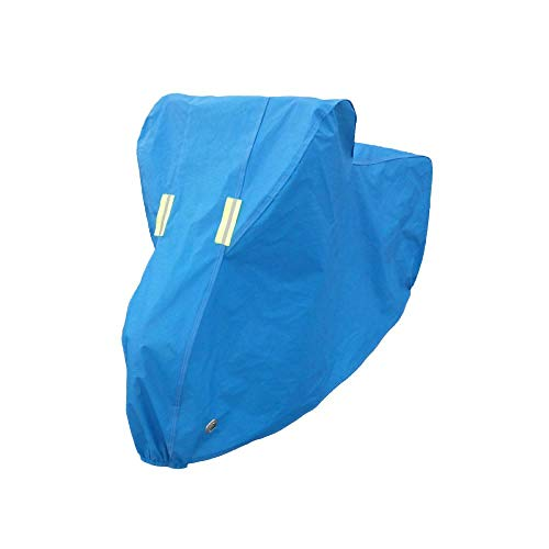 Nbrand Thicken Bicycle Cover, Road Bike, Mountain Bike, car Clothing, Motorcycle Cover, rain Cover, dustproof, Sunscreen, Sunshade and snow-24-26 inch Blue_See Description for Size