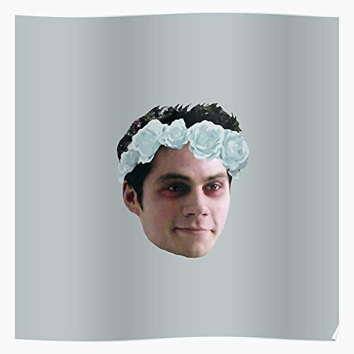 Airflo Void Stilinski Flowers Flower Stiles Crown Beacon Hills Teen Wolf Impressive posters for room decoration printed with the latest modern technology on semi-glossy paper background