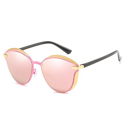 AEF Gafas Sol para Mujer Polarizadas Moda Protección UV400 Gran Tamaño Gafas Sol para Señoras, Marco Ultraligero,1
