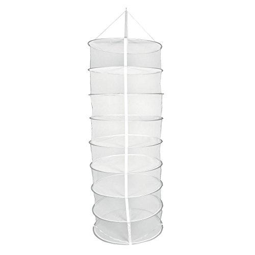 Malla blanca secadora / Red de secado redonda para colgar (55cm)