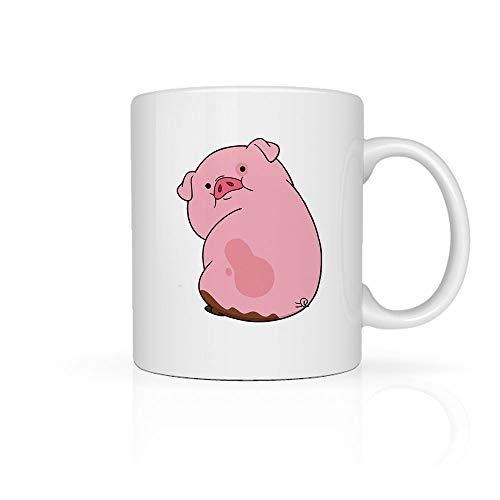 Taza GRAVITY FALLS - PATO Cerámica para Café o Té 11oz cada una (330ml), Coffee Tea Mug GRAVITY FALLS, No se despinta, Perfecta para la Oficina o Regalo