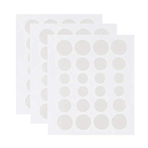 Nuryme Parches para acné, eliminador de topos, transpirable, para eliminar el acné, parches para la piel y el cuidado facial, 108 unidades